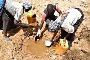 The Water Project: Kaketi Community C -  Fetching Water
