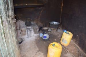 The Water Project: Kaketi Community C -  Inside Kitchen
