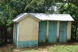 The Water Project: Kaketi Community C -  Latrines