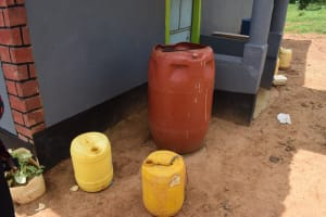 The Water Project: Kaketi Community C -  Water Storage Containers