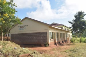 The Water Project: Kalisasi Secondary School -  Classroom