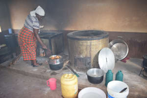 The Water Project: Kalisasi Secondary School -  Coooking
