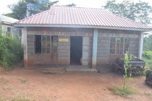 The Water Project: Kalisasi Secondary School -  Kitchen