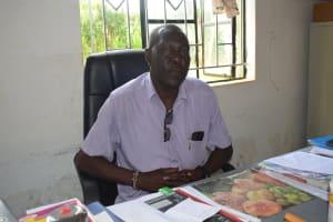 The Water Project: Kalisasi Secondary School -  Principal Munyao
