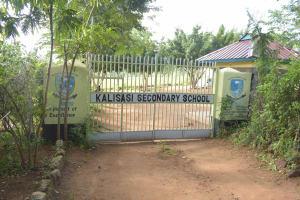 The Water Project: Kalisasi Secondary School -  School Gate