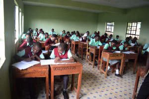 The Water Project: Kalisasi Secondary School -  Students At School