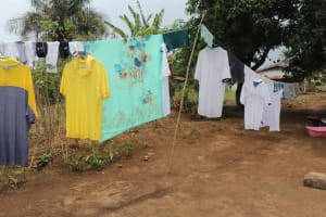 The Water Project: Lungi, Suctarr, #3 Lovell Lane -  Clothesline