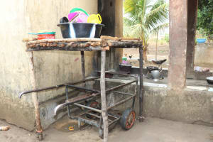 The Water Project: Lungi, Suctarr, #3 Lovell Lane -  Dishrack