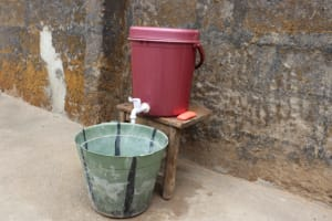The Water Project: Lungi, Suctarr, #3 Lovell Lane -  Handwashing Station