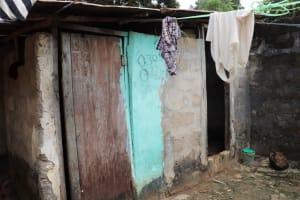 The Water Project: Lungi, Kambia, #6 Bangura St. -  Latrine