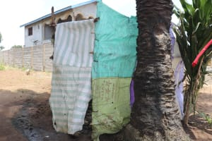 The Water Project: Lungi, Suctarr, #47 Kamara Street -  Bathing Shelter