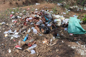 The Water Project: Lungi, Suctarr, #47 Kamara Street -  Garbage