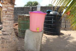 The Water Project: Lungi, Suctarr, #47 Kamara Street -  Handwashing Station