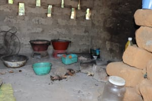 The Water Project: Lungi, Suctarr, #47 Kamara Street -  Inside Kitchen