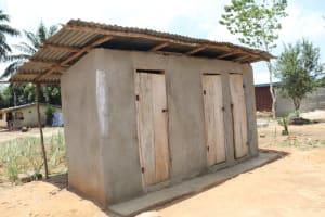 The Water Project: Lungi, Suctarr, #47 Kamara Street -  Latrine