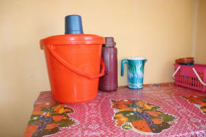 The Water Project: Lungi, Suctarr, #47 Kamara Street -  Water Storage For Drinking Purpose