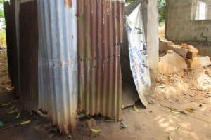 The Water Project: Lungi, Rotifunk, 22 Kasongha Road -  Bath Shelter
