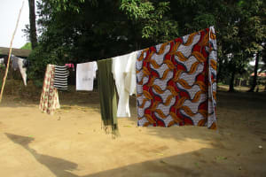 The Water Project: Lungi, Rotifunk, 22 Kasongha Road -  Clothes Line