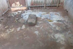 The Water Project: Lungi, Rotifunk, 22 Kasongha Road -  Inside Bath Shelter