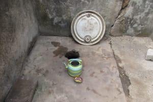 The Water Project: Lungi, Rotifunk, 22 Kasongha Road -  Inside Disable Latrine