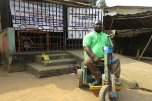 The Water Project: Lungi, Rotifunk, 22 Kasongha Road -  Mr Abdulai Kamara Head Of Disable Interview
