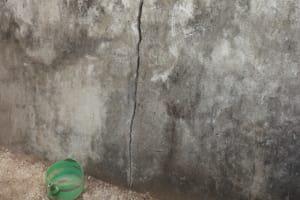 The Water Project: Lungi, Rotifunk, 22 Kasongha Road -  Wall Of Disable Latrine