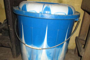 The Water Project: Lungi, Rotifunk, 22 Kasongha Road -  Water Storage Container