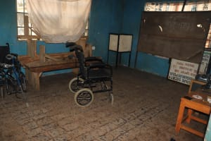 The Water Project: Lungi, Rotifunk, 22 Kasongha Road -  Room Inside Disable House