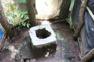 The Water Project: Lungi, Suctarr, #1 Kabbia Lane -  Inside Latrine