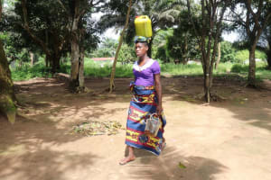 The Water Project: Lungi, Suctarr, #1 Kabbia Lane -  Young Lady Selling Palm Oil