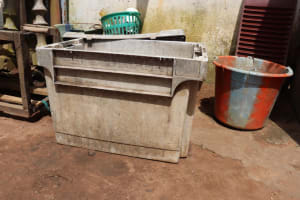 The Water Project: Lungi, Suctarr, #1 Kabbia Lane -  Water Storage For Domestic Use