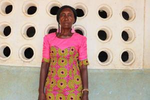 The Water Project: Lungi, Tintafor, St. Augustine Senior Secondary School -  Head Teacher Madam Fatmata Kalokoh