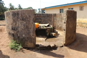 The Water Project: Lungi, Tintafor, St. Augustine Senior Secondary School -  Alternate Water Source