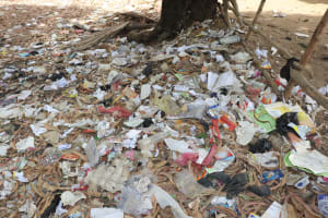 The Water Project: Lungi, Tintafor, St. Augustine Senior Secondary School -  Garbage Pit