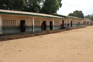 The Water Project: Lungi, Tintafor, St. Augustine Senior Secondary School -  School Building