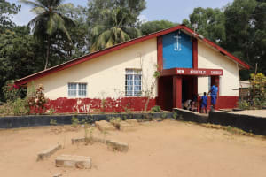 The Water Project: Lungi, Tintafor, St. Augustine Senior Secondary School -  School Church Building