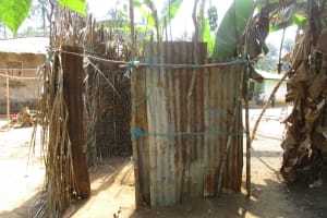 The Water Project: Lokomasama, Conteya Village -  Bath Shelter