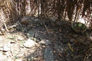 The Water Project: Lokomasama, Conteya Village -  Inside Bath Shelter
