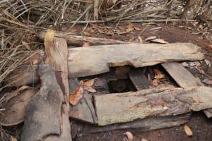 The Water Project: Lokomasama, Rotain Village -  Inside Latrine