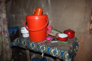 The Water Project: Lokomasama, Rotain Village -  Water Storage