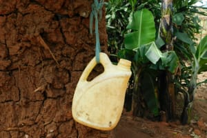 The Water Project: Khaunga A Community, Murutu Spring -  Handwashing Station To Keep Corona Away