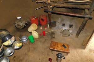 The Water Project: Khaunga A Community, Murutu Spring -  Inside A Kitchen