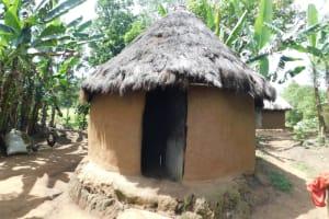 The Water Project: Khaunga A Community, Murutu Spring -  Kitchen Exterior