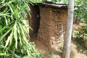 The Water Project: Khaunga A Community, Murutu Spring -  Latrine