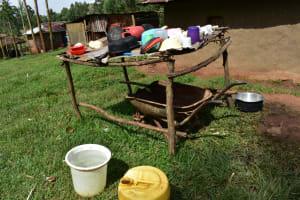 The Water Project: Mukhuyu Community, Namukuru Spring -  Dish Rack