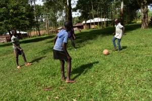 The Water Project: Mukhuyu Community, Namukuru Spring -  Kids Playing