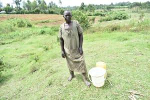 The Water Project: Mukhuyu Community, Namukuru Spring -  Loice Wachiya