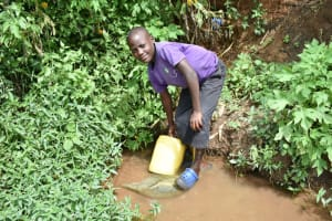 The Water Project: Mukhuyu Community, Namukuru Spring -  Sharmil