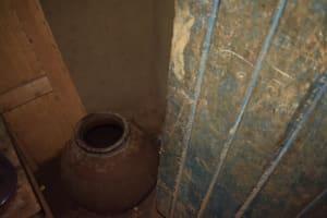The Water Project: Mukhuyu Community, Namukuru Spring -  Water Storage Clay Pot