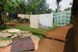 The Water Project: Musango Community, Wambani Spring -  Clothesline